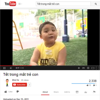Tết trong mắt trẻ con